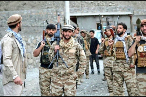 Panjshir valley people beat taliban
