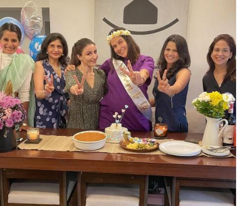 Soha Ali Khan Attended Neha Dhupia's Baby Shower Party