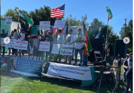 A Rally of Tajiks Organized in the USA in Support of Ahmad Massoud and Panjshir
