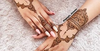 latest Beautiful Mehandi Designs